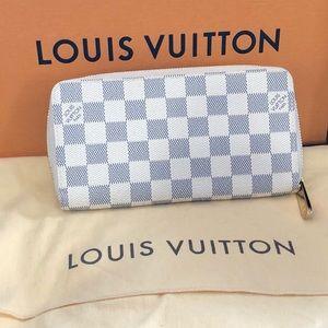 Louis Vuitton Damier Azur Wallet